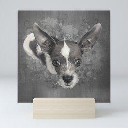 LiAM (puffy cloud) Mini Art Print