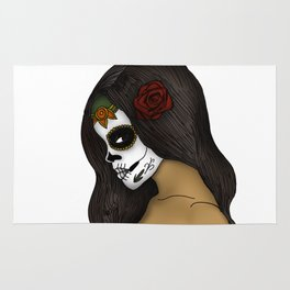 The Day Of The Dead Girl Rug