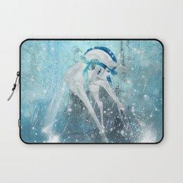 Snowflake Unicorn Laptop Sleeve