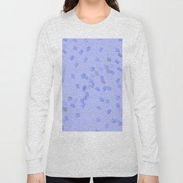 Light blue puzzle Long Sleeve T-shirt