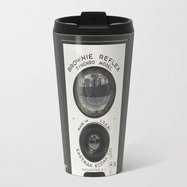 Brownie Reflex Camera Photography, Old Vintage Camera Travel Mug