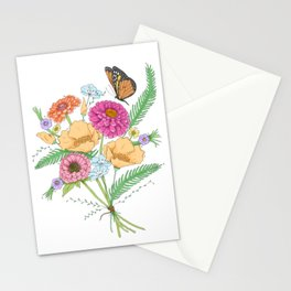 Flowers of California Stationery Cards