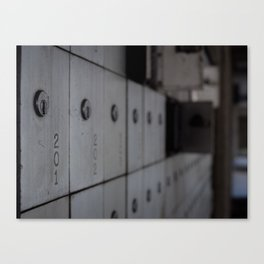 PO Boxes Canvas Print