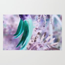 Frosted Kaka Flowers Rug