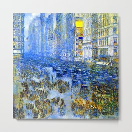 Childe Hassam Fifth Avenue New York Metal Print