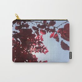 Tree with red leaves Carry-All Pouch