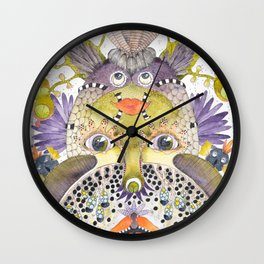 Little Monsters Wall Clock