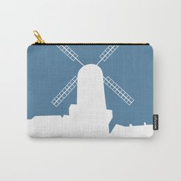 Kinderdijk , Netherlands windmill vacation poster. Carry-All Pouch
