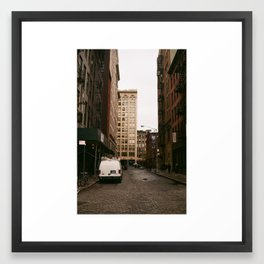 from NY with love Framed Art Print