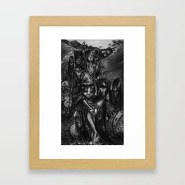 The Parade Framed Art Print