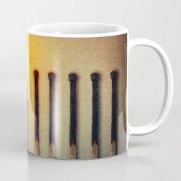 match burning alone Coffee Mug