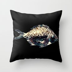 Fairytale Fish Glowing Version Throw Pillow