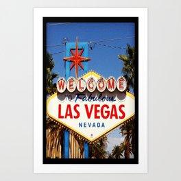 Ah Vegas... Art Print
