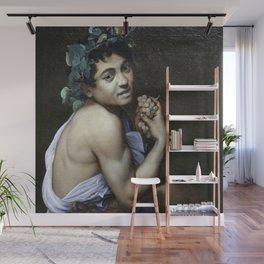 Merisi da Caravaggio - Young Sick Bacchus Wall Mural