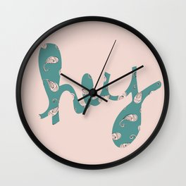 Hey Wall Clock