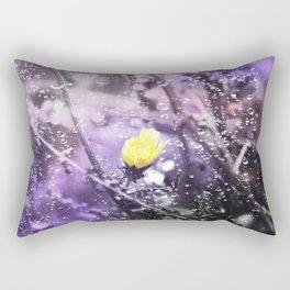 Her Beauty Fades Rectangular Pillow
