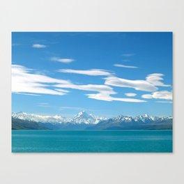 Mount Cook Cloudscape Canvas Print
