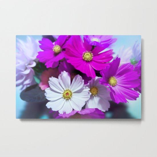 Tender Bouquet of Flowers Metal Print