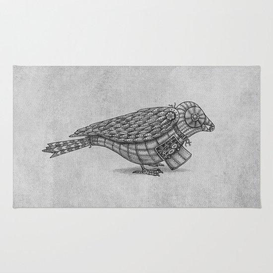 Clockwork Bird  Rug