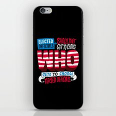 Voter Suppression iPhone & iPod Skin