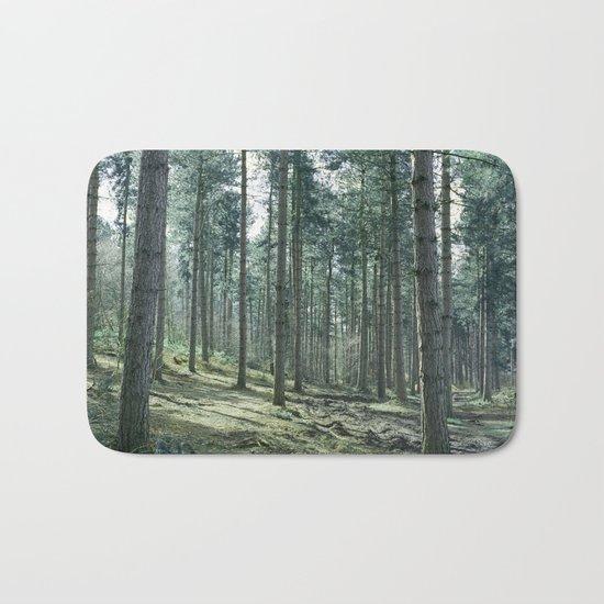 The pines forêt Bath Mat
