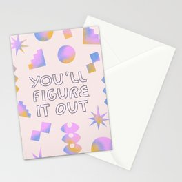You'll Figure it Out Stationery Cards