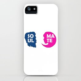 Show your endless infinite love Soulmate T-Shirt Soulmate Gender iPhone Case