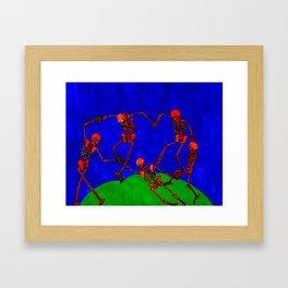 Red Dance, after Matisse Framed Art Print