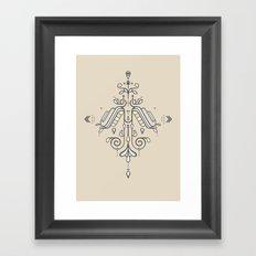 TIOH THREE Framed Art Print