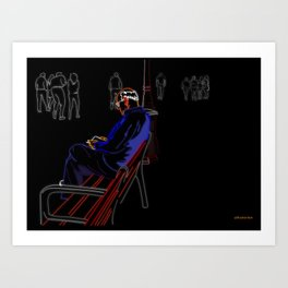 Banco Art Print