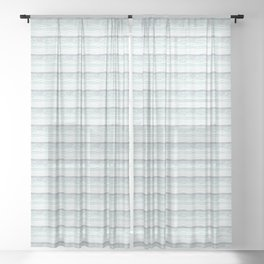 Scenic Impressions: FOSSIL BEACH Sheer Curtain