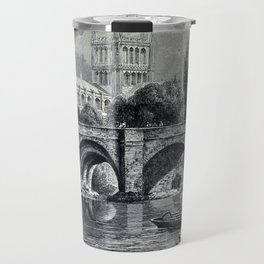 Cathedrals, abbeys and churches of England and Wales Travel Mug