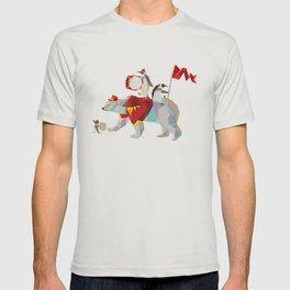 Private Penguin's Polar Percussion T-shirt