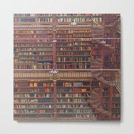 Rijksmuseum library Metal Print