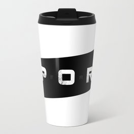 Sport Hero Dynamic Style Black Travel Mug