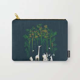 Re-paint the Forest Carry-All Pouch