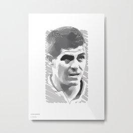 World Cup Edition - Steven Gerrard / England Metal Print