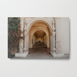 Archways of Beauty Metal Print
