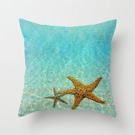 Sea Treasures Throw Pillow