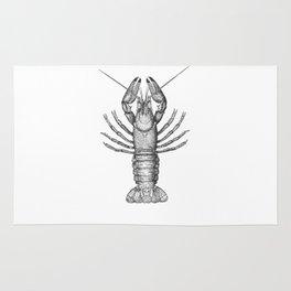 Vintage Lobster Rug