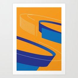 Geometric composition 2 Art Print