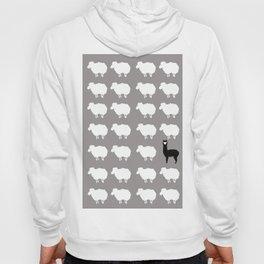 Don't be a sheep, Be a Llama Hoody