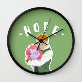 Jhope and Mang Wall Clock