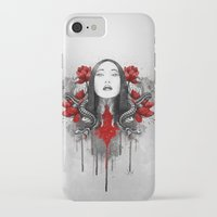 iPhone Cases featuring Akane by Marine Loup