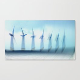 Turbines II Canvas Print