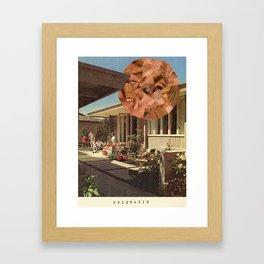 Epistaxis Framed Art Print