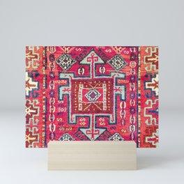 Malatya  Antique Kurdish Turkish Rug Print Mini Art Print
