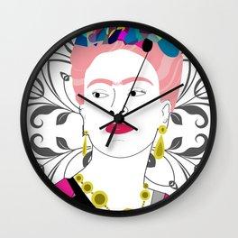 """Frida Kahlo"" Wall Clock"