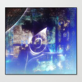 Blueoval Canvas Print
