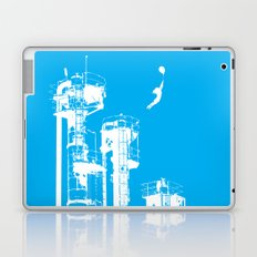 Factory Jump (white) Laptop & iPad Skin